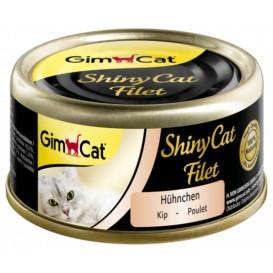 Lata de Frango ShinyCat Fillet - Gimcat