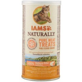 Naturally Meat Treats de Salmão - IAMS