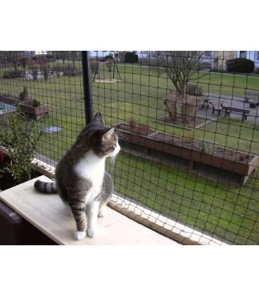 Rede Proteção Preta para Gatos - TRIXIE
