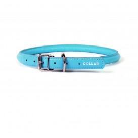 Collar Glamour Coleira couro s/ decor. L35mm C46-60cm