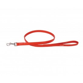 Trela de Couro - Collar Glamour 122cm Vermelho