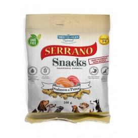 Snacks de Salmão e Atum - Serrano