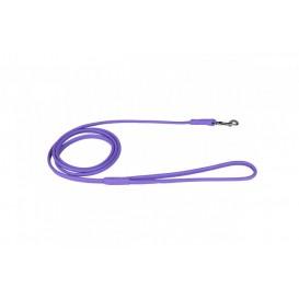 """CoLLaR GLAMOUR"" Trela de Couro (largura 10mm, comprimento 183cm) Purpura"