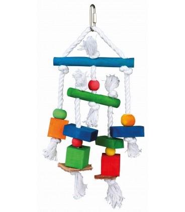 Brinquedo de Madeira Multi-color- TRIXIE