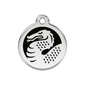 Medalha c/ Dragão - Red Dingo