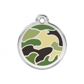 Medalha c/ Padrão Camuflagem - Red Dingo