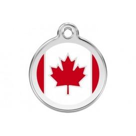 Medalha c/ Bandeira do Canadá - Red Dingo