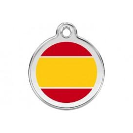 Medalha c/ Bandeira da Espanha - Red Dingo