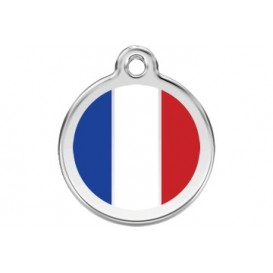Medalha c/ Bandeira da França - Red Dingo