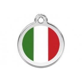 Medalha c/ Bandeira da Itália - Red Dingo