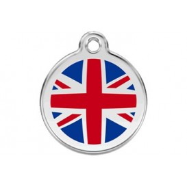 Medalha c/ Bandeira do Reino Unido - Red Dingo