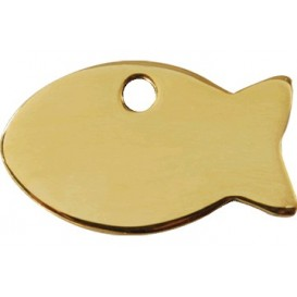 Medalha c/ Forma de Peixe - Red Dingo