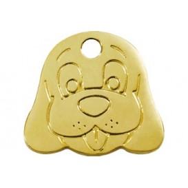 Medalha c/ Forma de Cão - Red Dingo