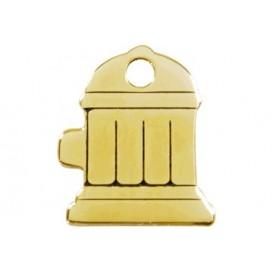 Medalha c/ Forma de Boca de Incêndio - Red Dingo