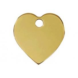 Medalha c/ Forma de Coração - Red Dingo