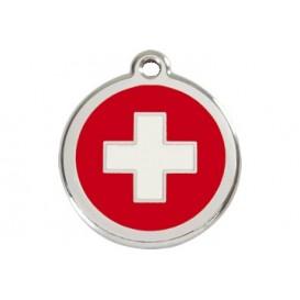 Medalha c/ Bandeira da Suíça - Red Dingo