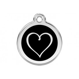 Medalha c/ Coração - Red Dingo